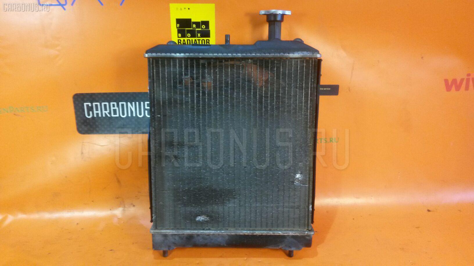 Радиатор ДВС MITSUBISHI MINICA H47V 3G83. Фото 3