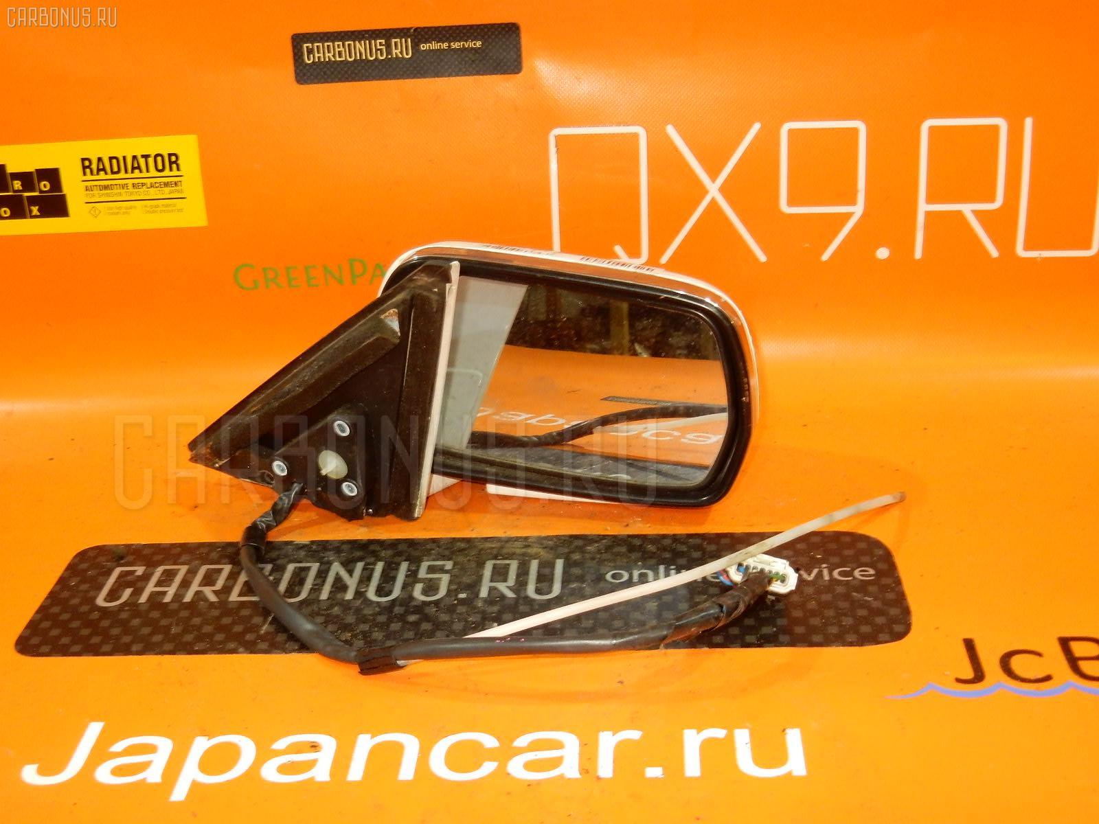 Зеркало двери боковой TOYOTA CROWN GS131. Фото 7