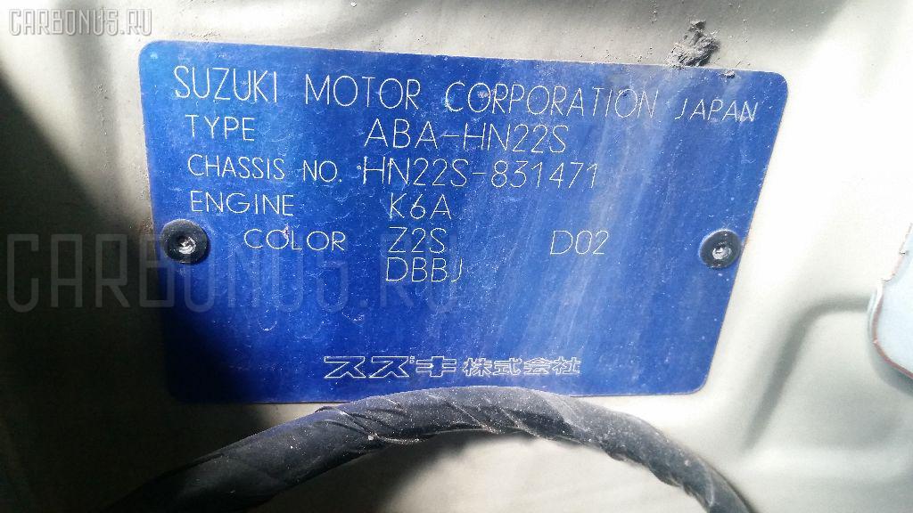 Двигатель SUZUKI KEI HN22S K6A-T Фото 11
