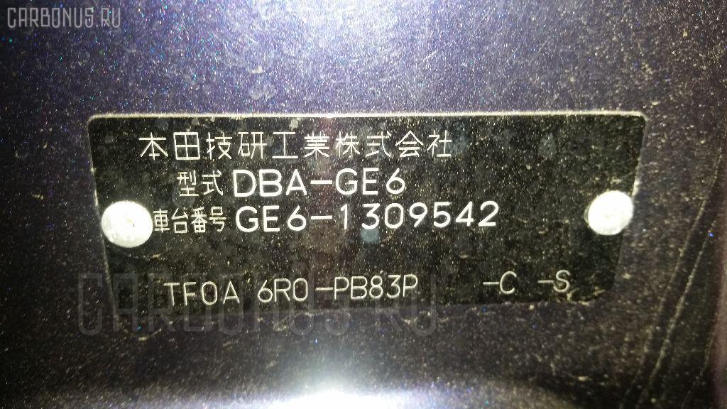 Двигатель HONDA FIT GE6 L13A Фото 11