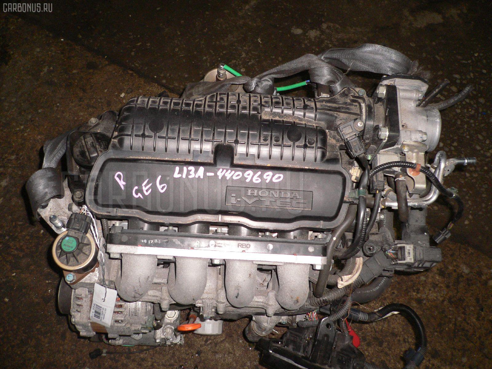 Двигатель HONDA FIT GE6 L13A Фото 1