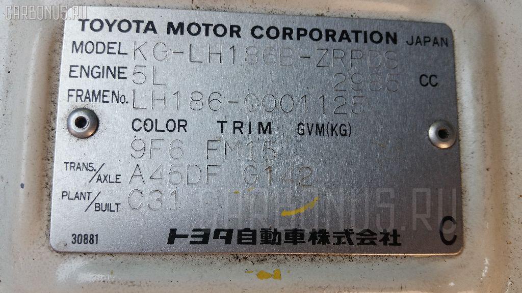 Кардан TOYOTA HIACE LH186B 5L Фото 2