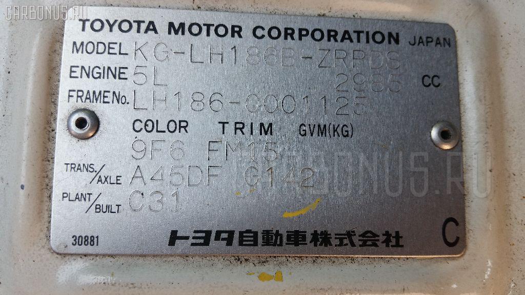 Торсион TOYOTA HIACE LH186 5L Фото 2