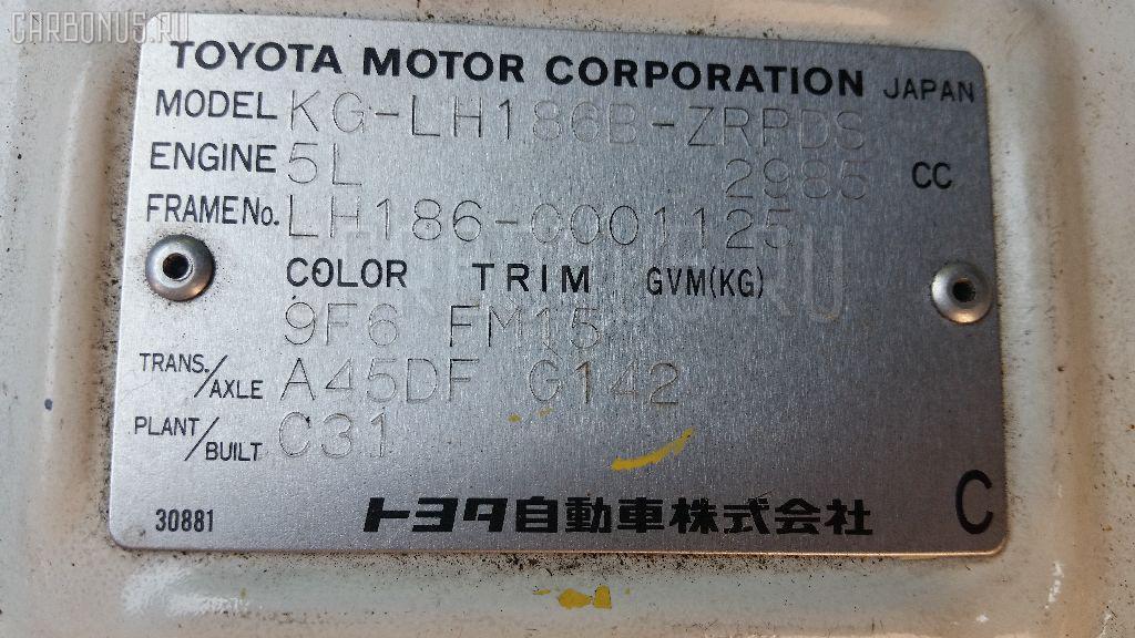 Гидроусилитель TOYOTA HIACE LH186B 5L Фото 4
