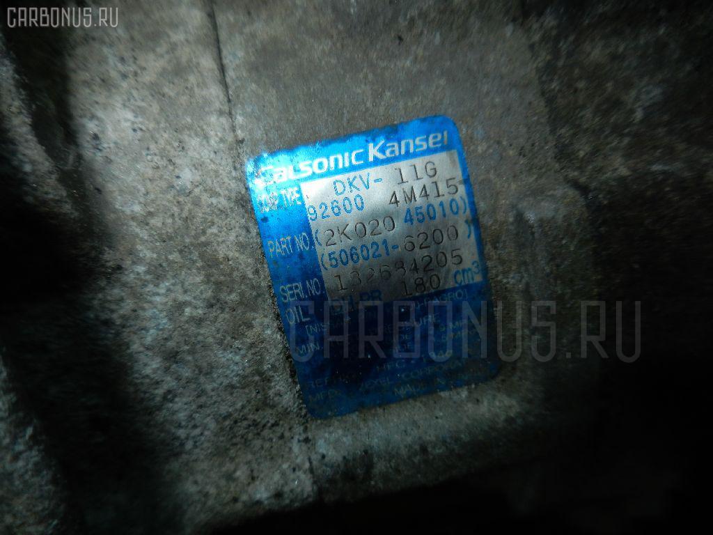 Компрессор кондиционера NISSAN BLUEBIRD SYLPHY QNG10 QG18DE Фото 2
