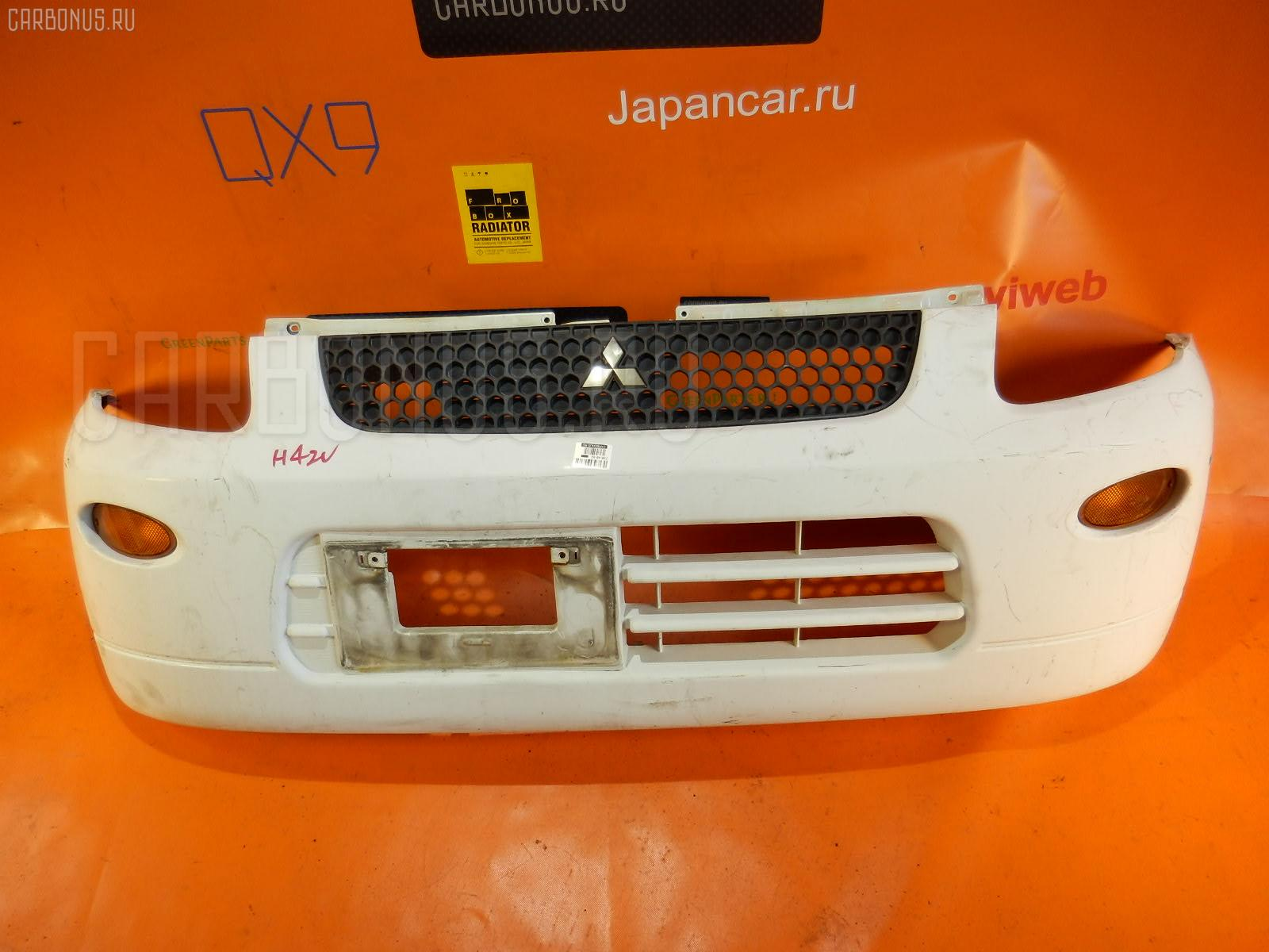 Бампер MITSUBISHI MINICA H42V Фото 3
