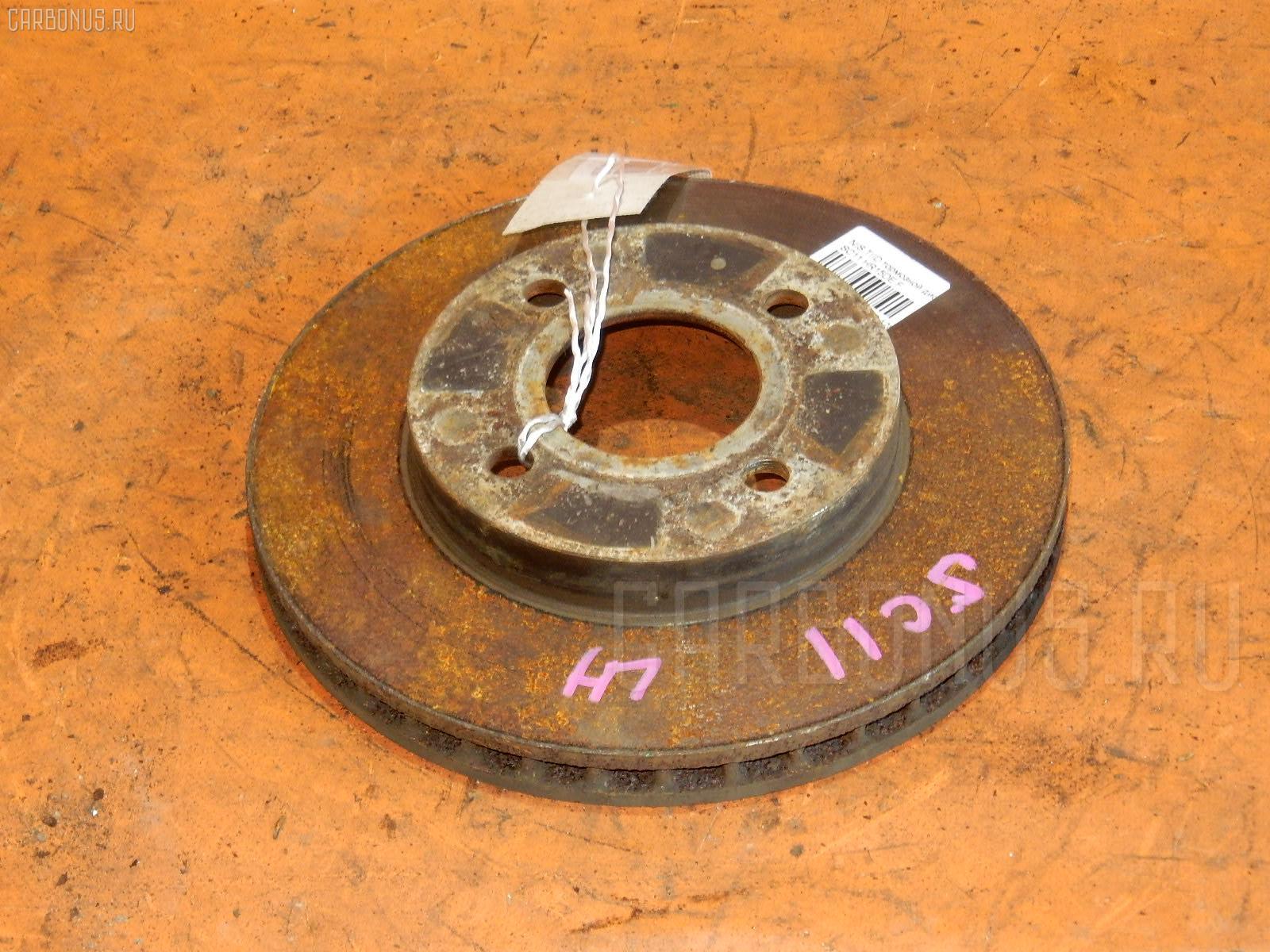 Тормозной диск NISSAN TIIDA LATIO SC11 HR15DE Фото 1
