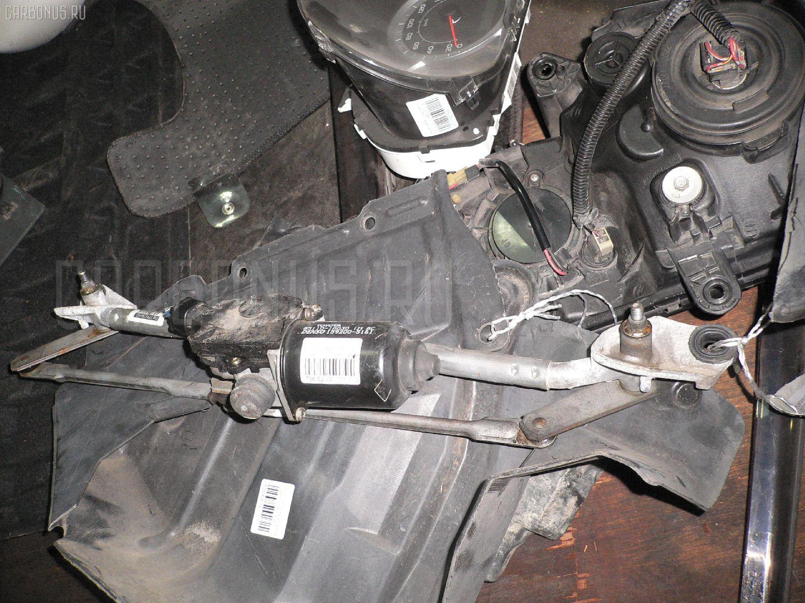 Мотор привода дворников Toyota Corolla runx NZE121 Фото 1