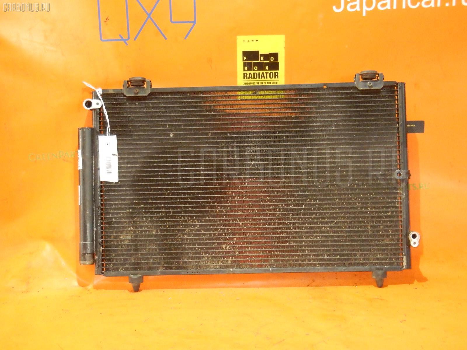 Радиатор кондиционера TOYOTA COROLLA RUNX NZE121 1NZ-FE. Фото 6
