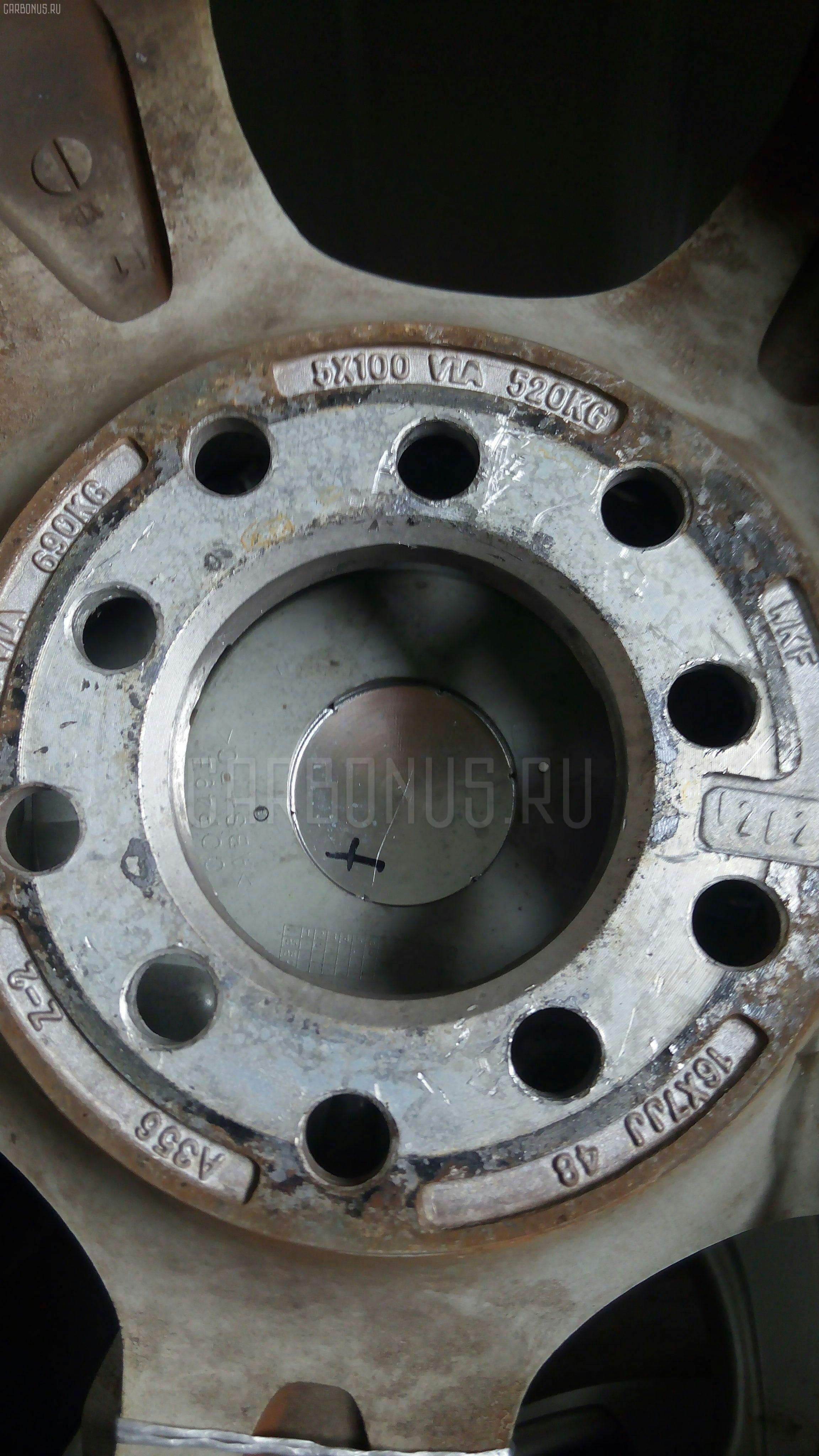 Диск литой R16 / 5-100/5-114.3 / 7JJ / ET+48 Фото 1