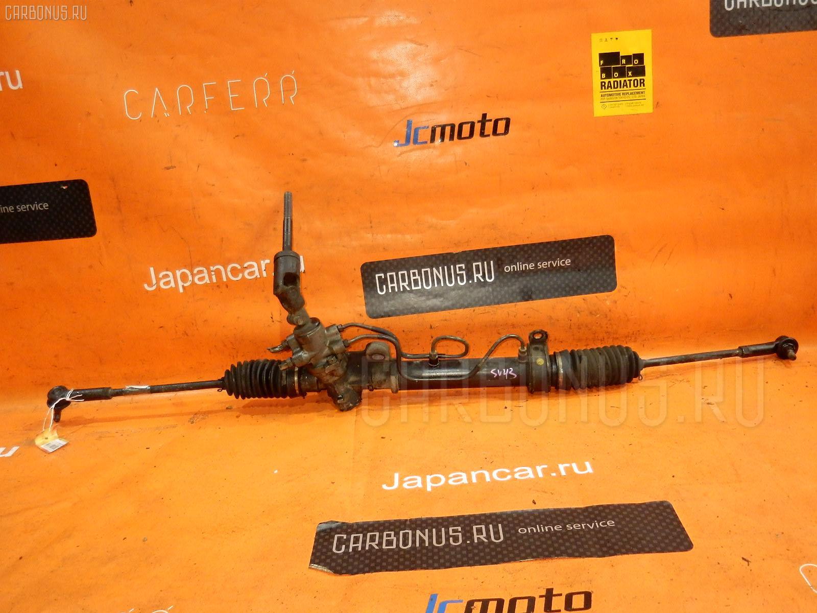 Рулевая рейка TOYOTA VISTA SV43 3S-FE. Фото 2