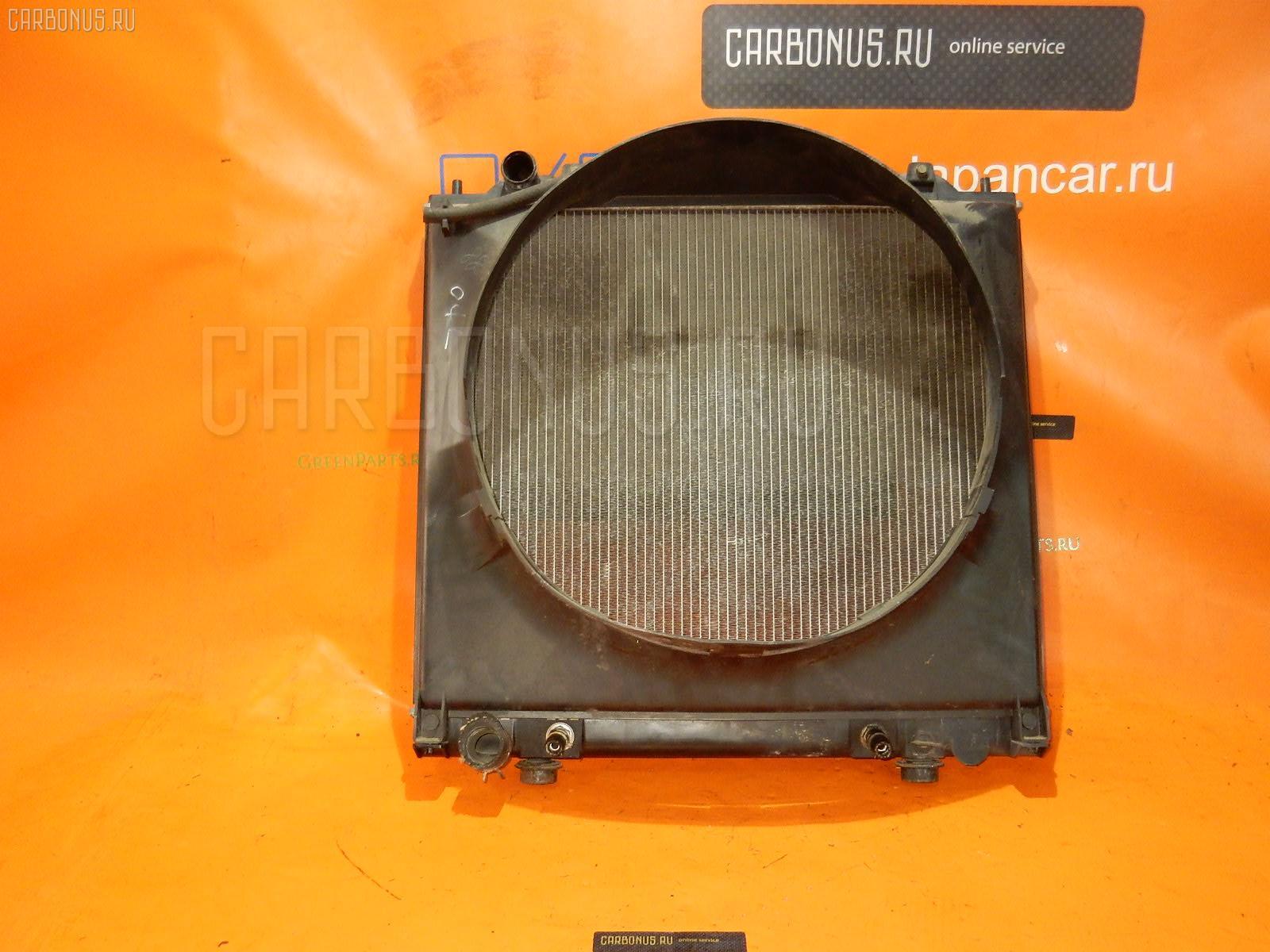 Радиатор ДВС Mitsubishi Delica space gear PD6W 6G72 Фото 1