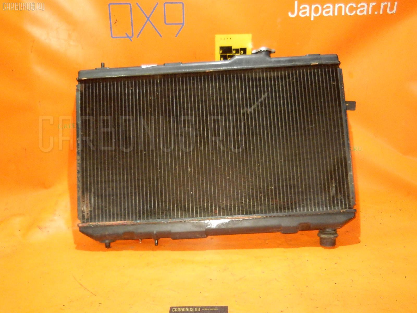 Радиатор ДВС TOYOTA VISTA SV43 3S-FE. Фото 4