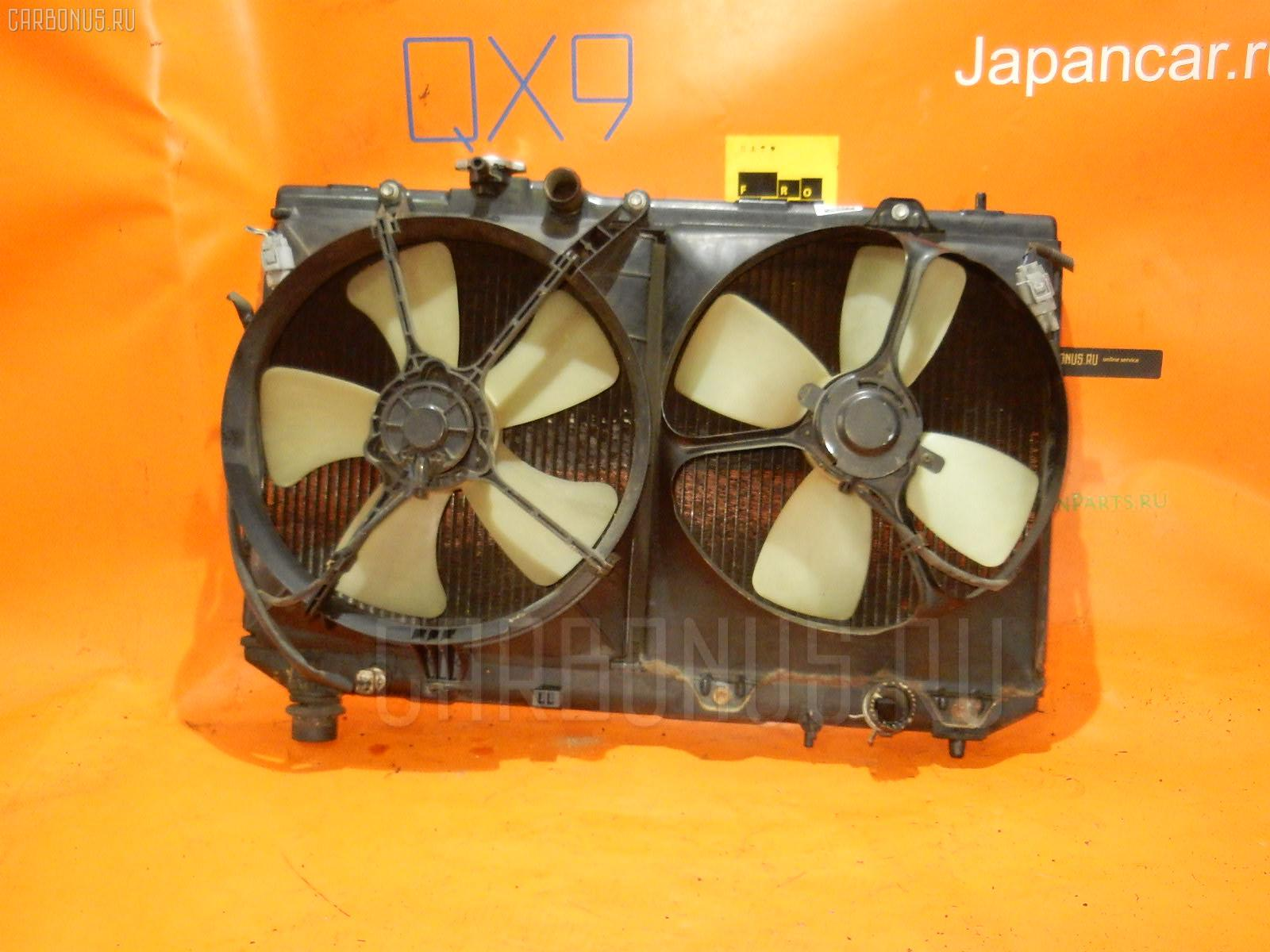 Радиатор ДВС TOYOTA VISTA SV43 3S-FE. Фото 2
