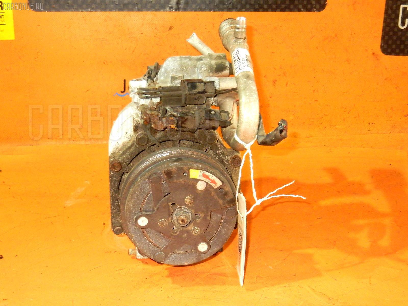 Компрессор кондиционера Mitsubishi Delica space gear PD6W 6G72 Фото 1