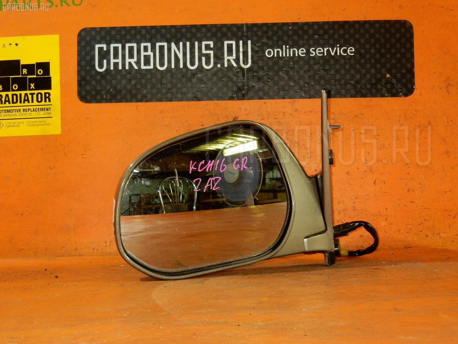 Зеркало двери боковой TOYOTA GRANVIA KCH16. Фото 4