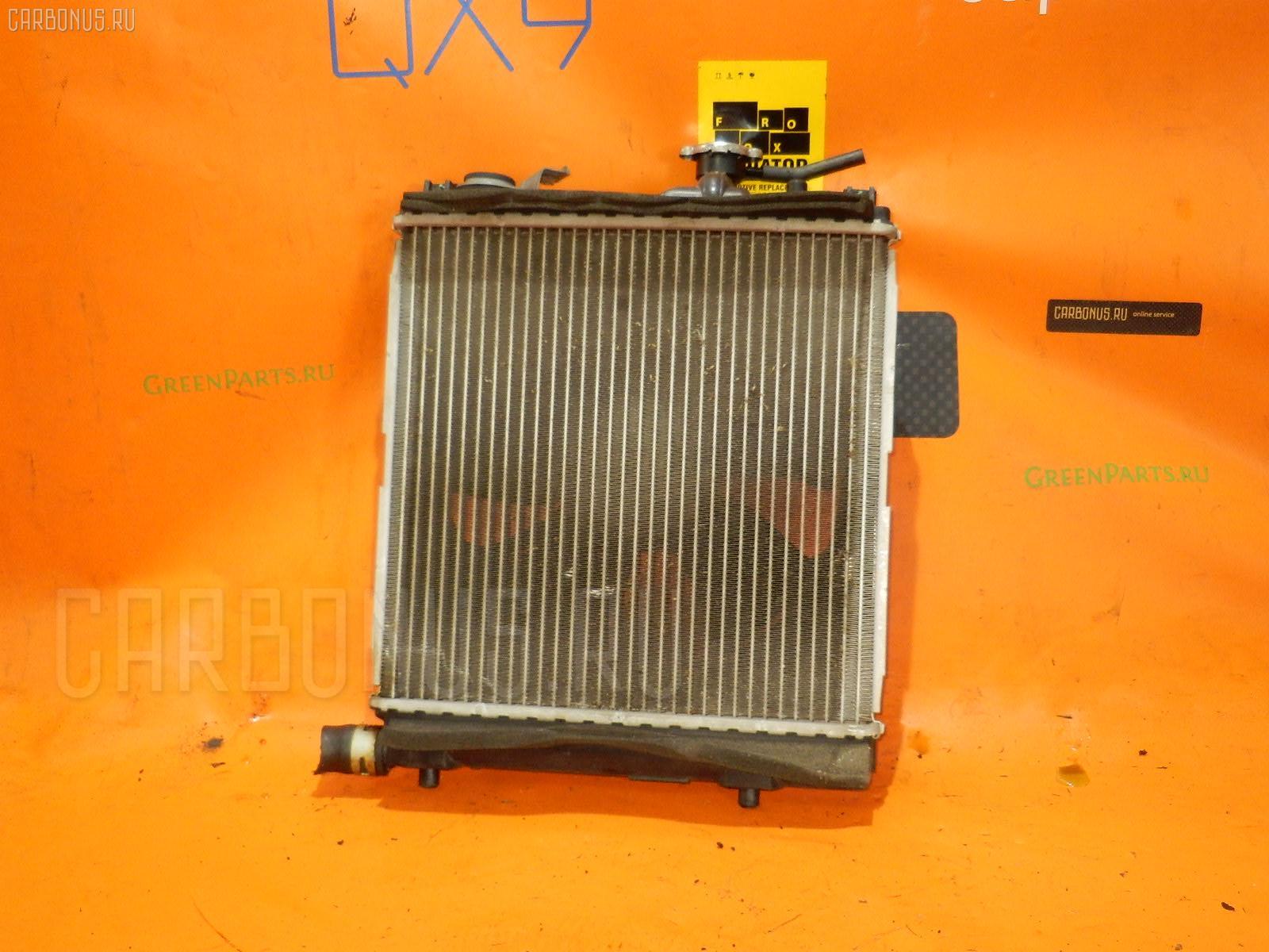 Радиатор ДВС SUZUKI WAGON R MH23S K6A. Фото 9