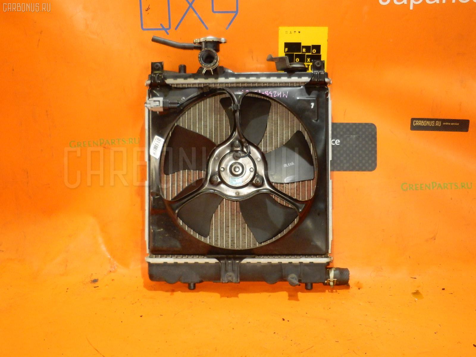 Радиатор ДВС SUZUKI WAGON R MH23S K6A. Фото 10
