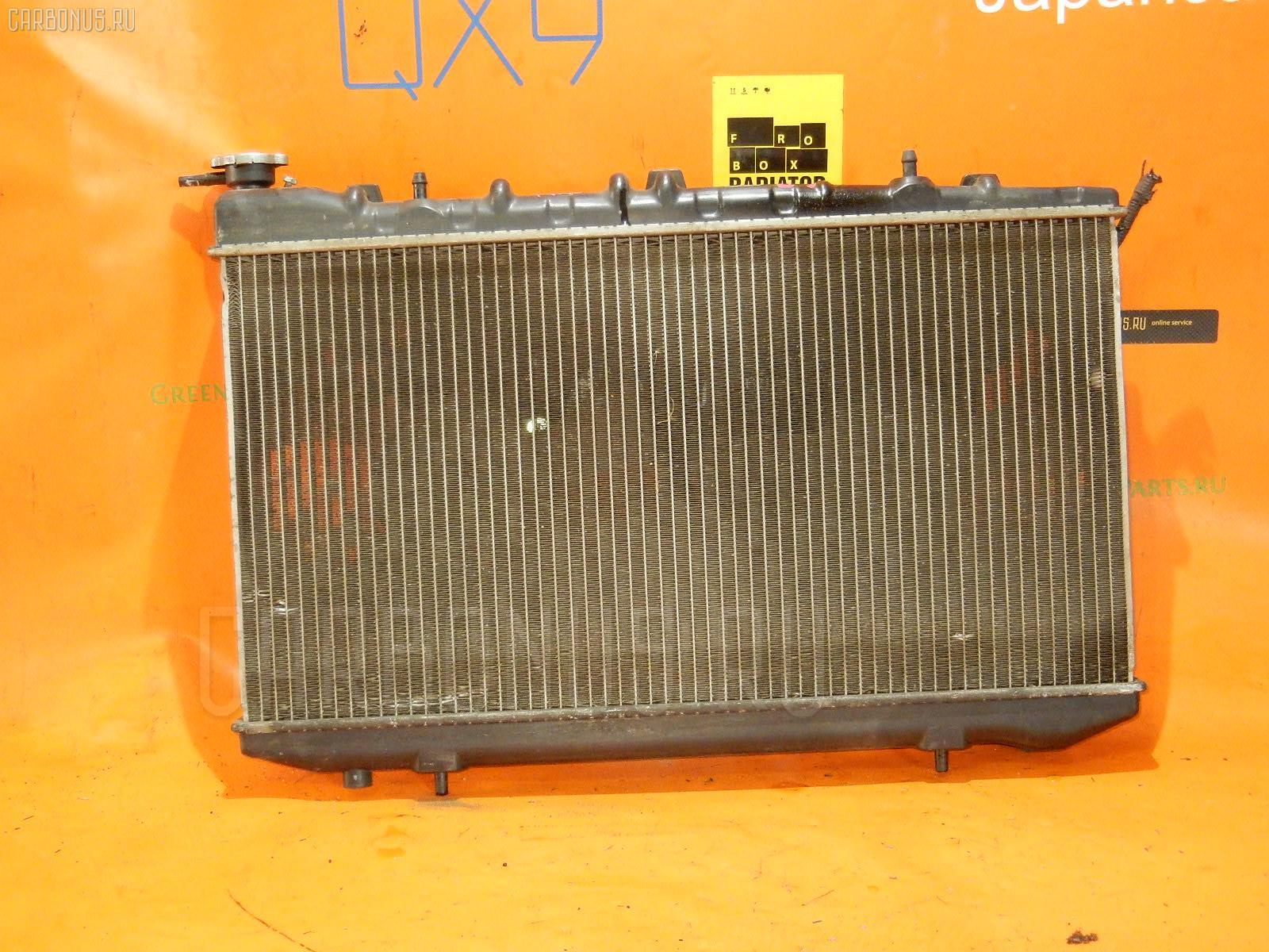 Радиатор ДВС NISSAN AVENIR PW10 SR20DE. Фото 4