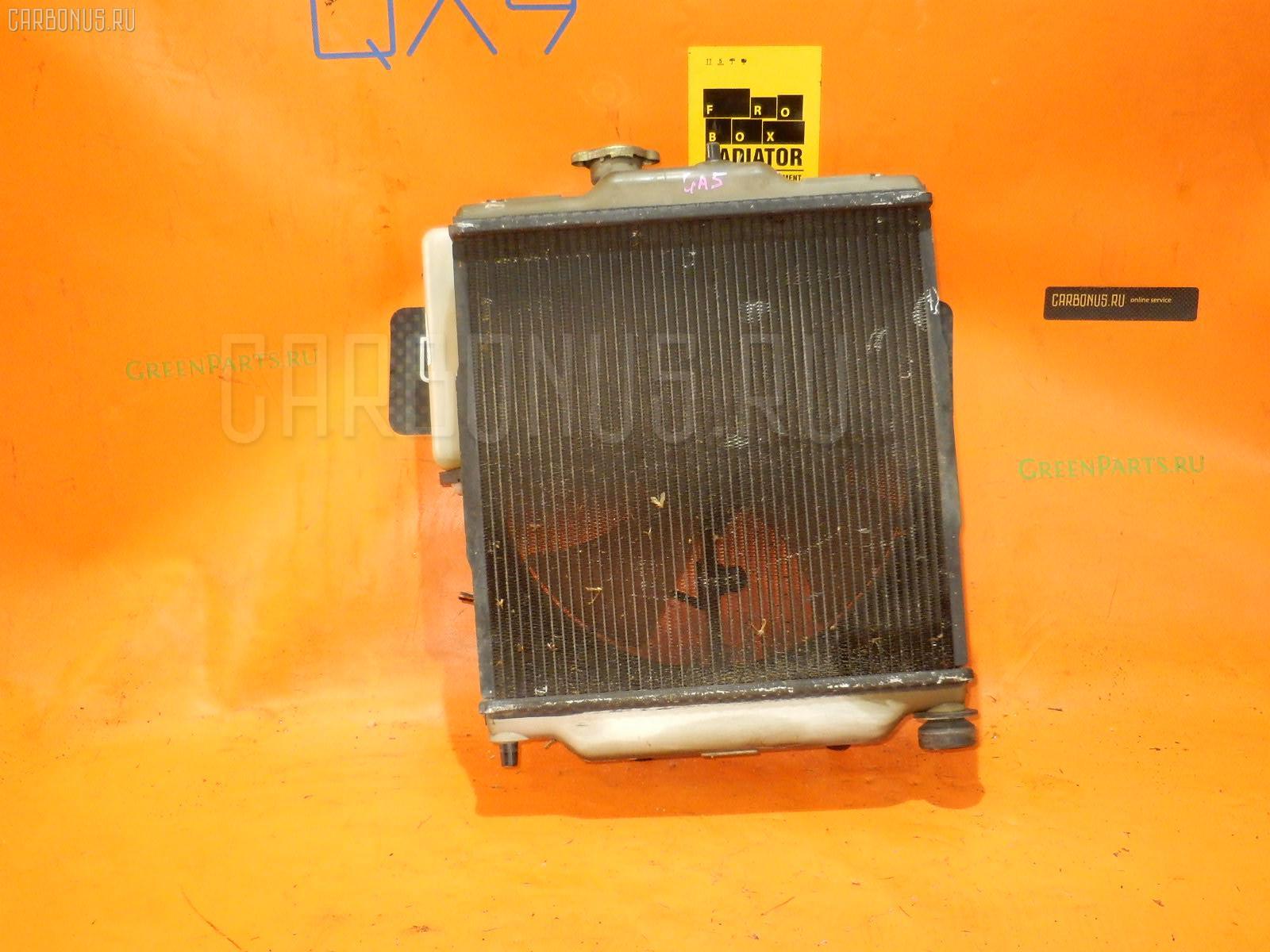 Радиатор ДВС HONDA LOGO GA5 D13B. Фото 4