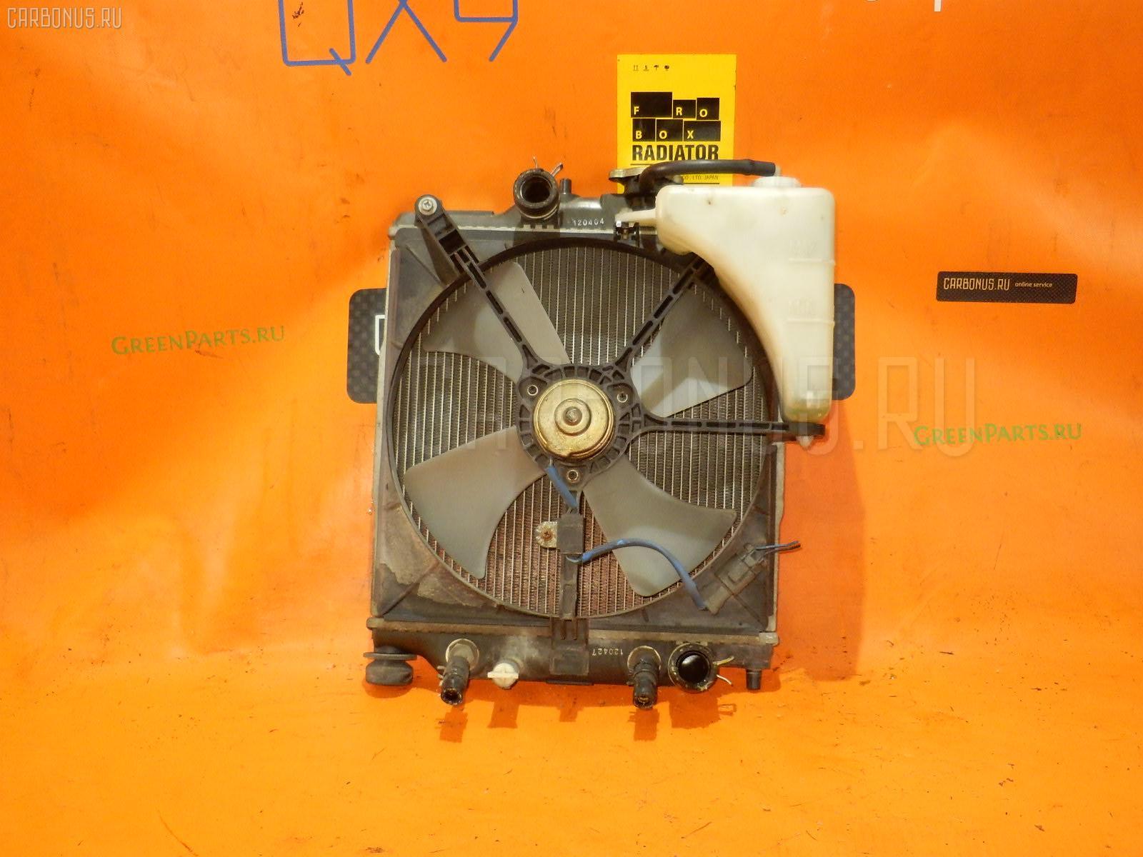 Радиатор ДВС HONDA LOGO GA5 D13B. Фото 3