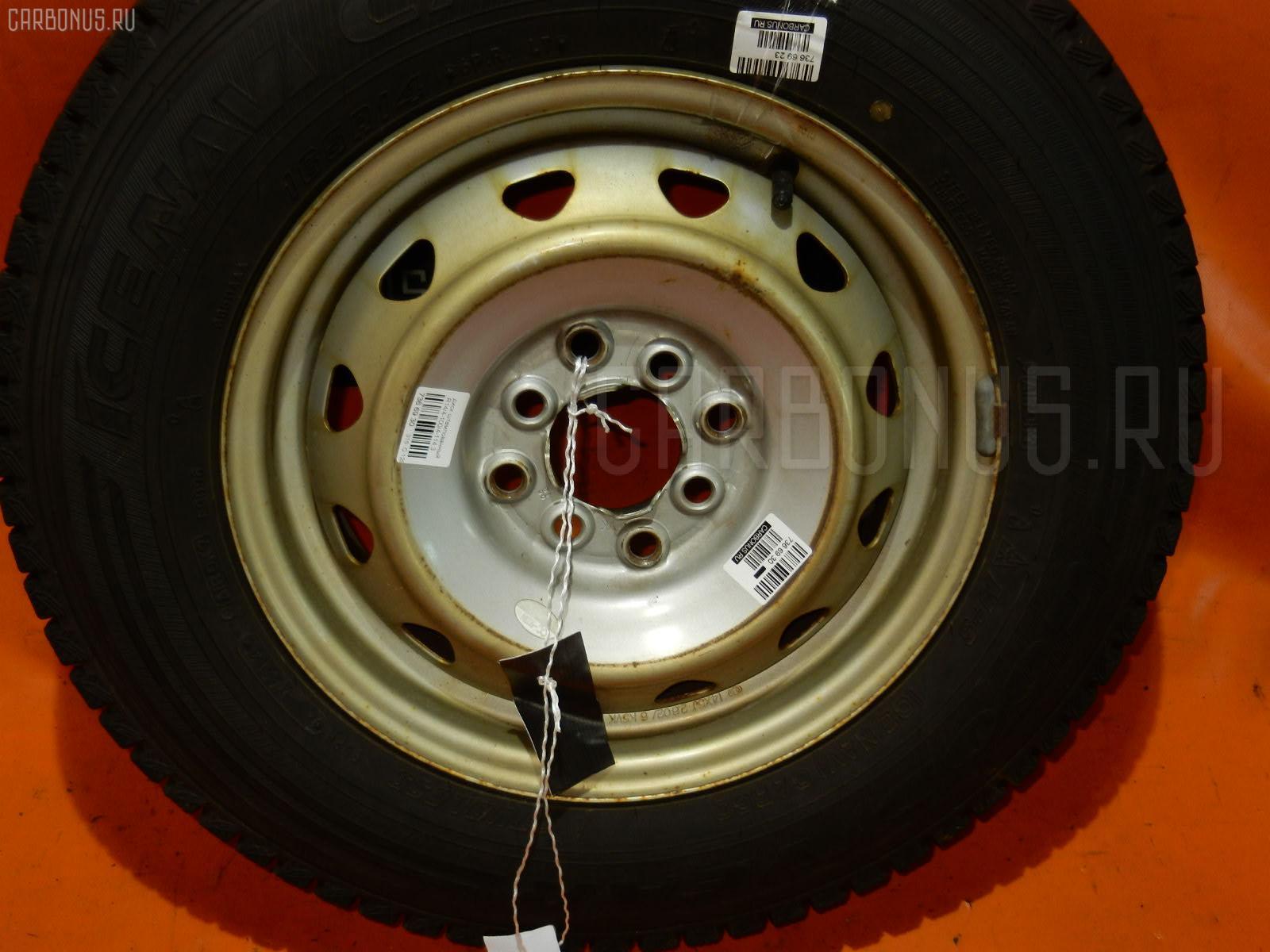 Диск штампованный R14 / 4-100/4-114.3 Фото 1