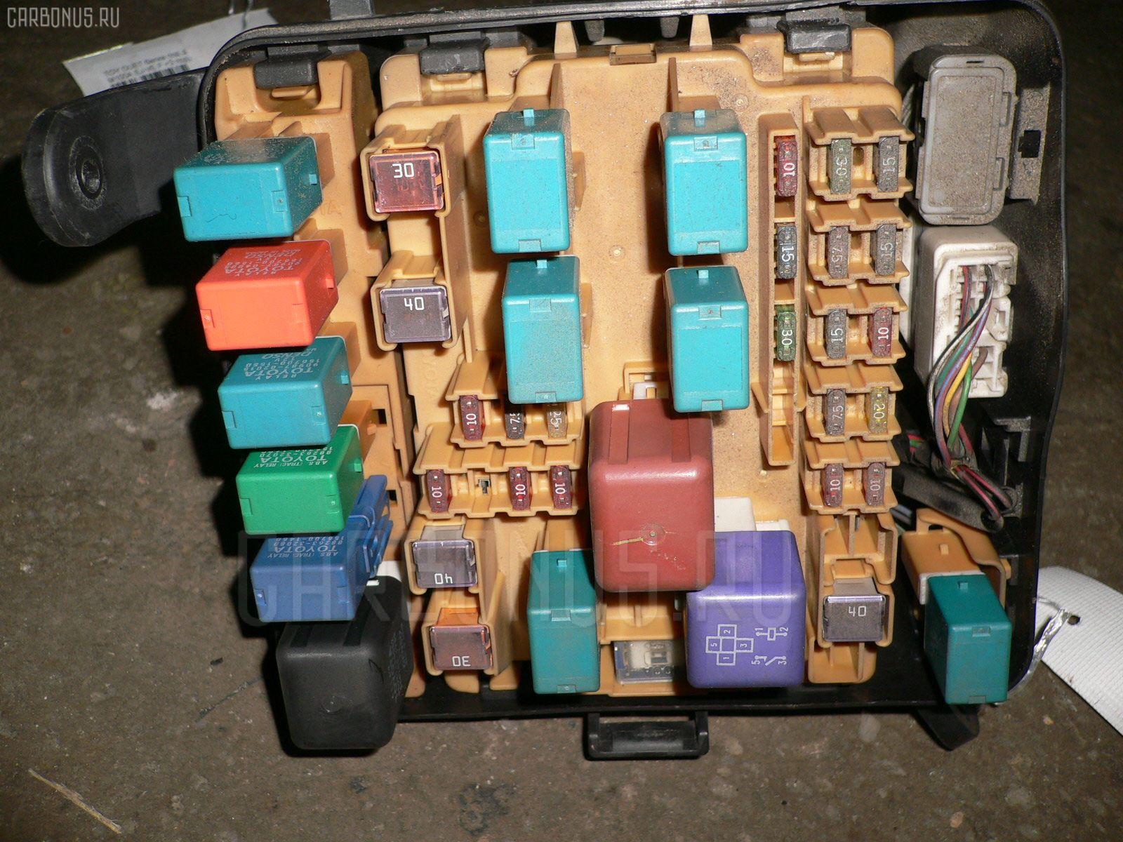 Блок предохранителей TOYOTA VISTA SV50 3S-FSE. Фото 4