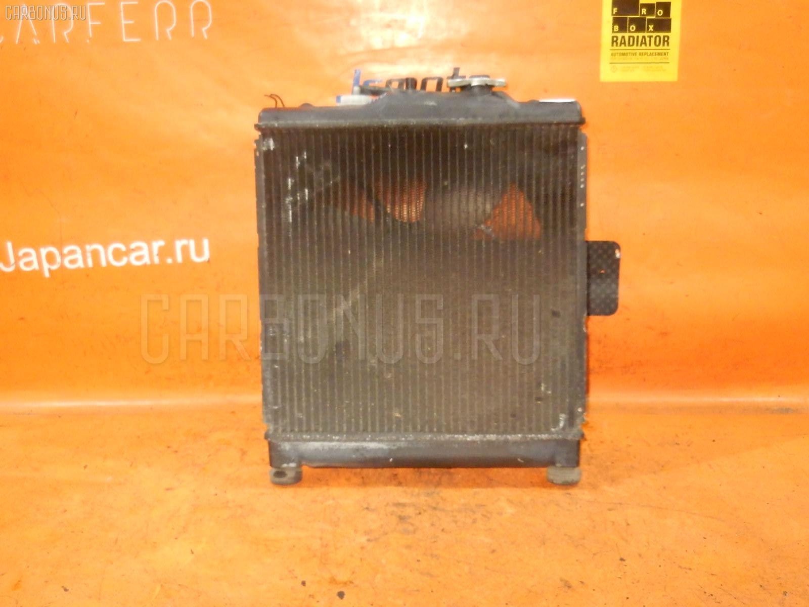 Радиатор ДВС HONDA HR-V GH4 D16A. Фото 6