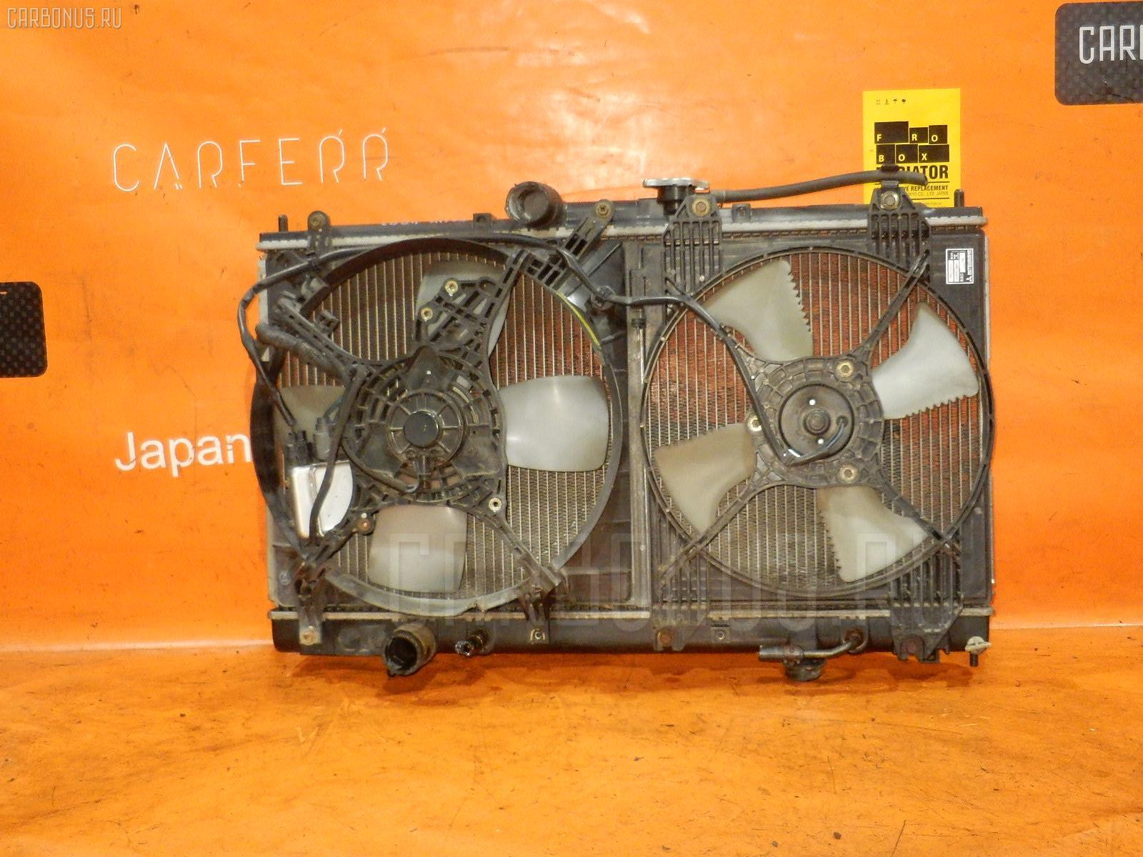 Радиатор ДВС MITSUBISHI LEGNUM EC1W 4G93. Фото 8