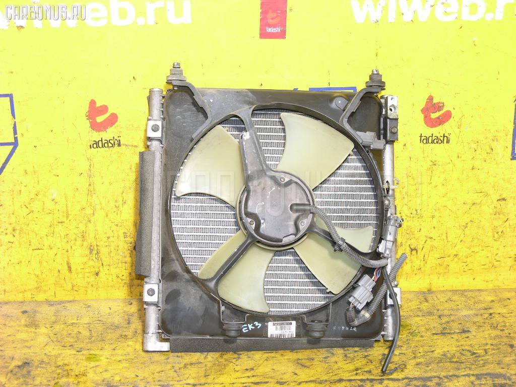 Радиатор кондиционера HONDA CIVIC FERIO EK3 D15B. Фото 2