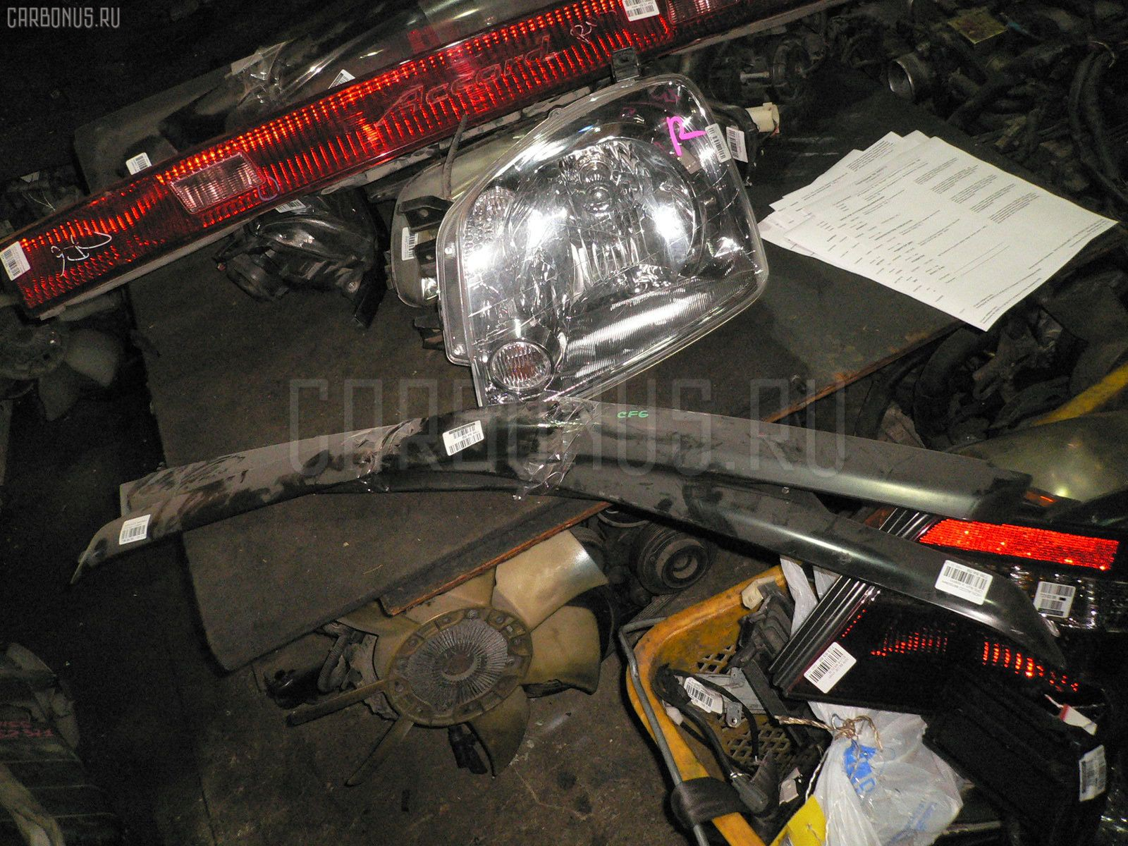 Ветровик Honda Accord wagon CF6 Фото 1