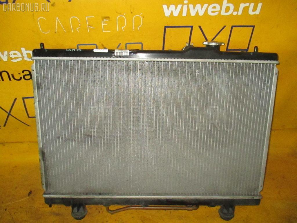 Радиатор ДВС TOYOTA GAIA SXM15G 3S-FE Фото 1