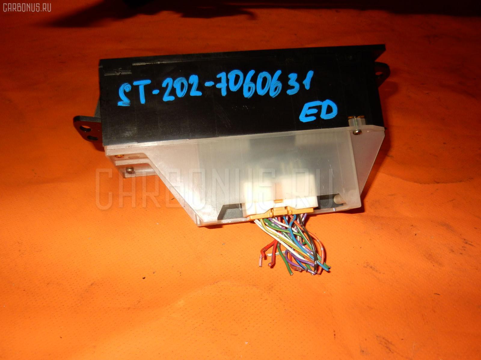 Блок управления климатконтроля TOYOTA CARINA ED ST202 3S-FE. Фото 9