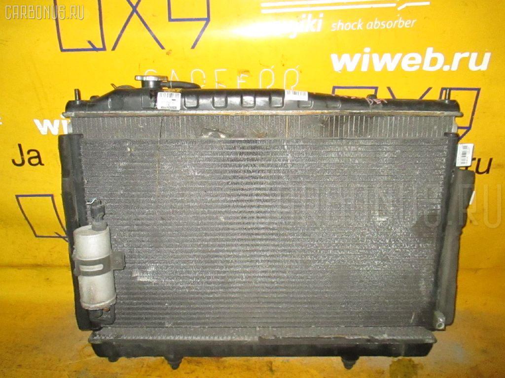 Радиатор ДВС NISSAN CEDRIC HY34 VQ30DET. Фото 8
