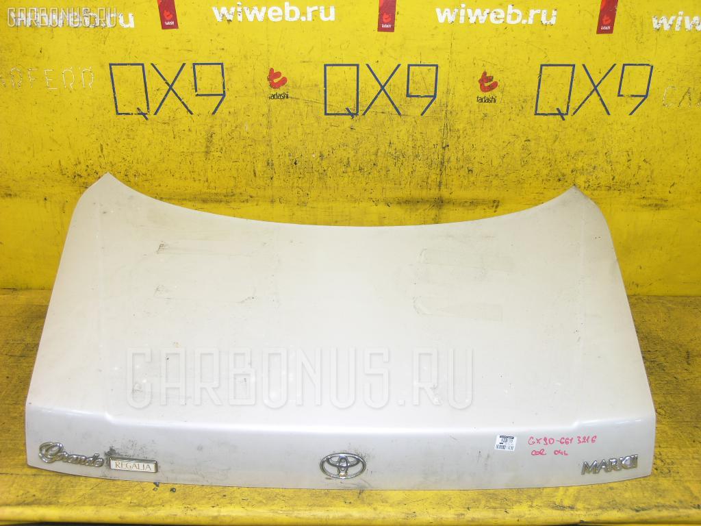 Крышка багажника TOYOTA MARK II GX90. Фото 8