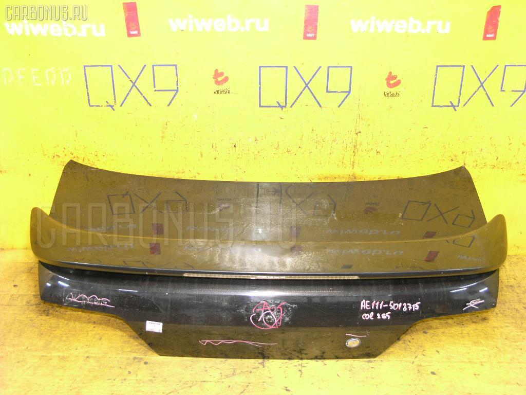 Крышка багажника TOYOTA COROLLA LEVIN AE111 Фото 1
