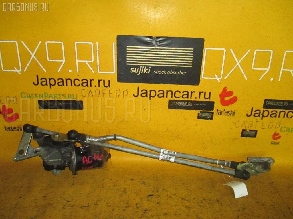 Мотор привода дворников TOYOTA COROLLA LEVIN AE111. Фото 3