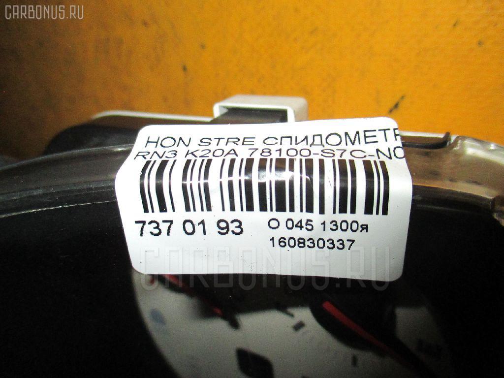 Спидометр HONDA STREAM RN3 K20A Фото 3