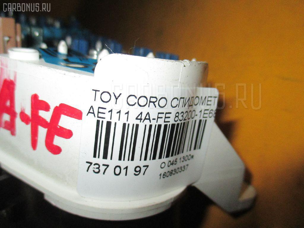 Спидометр TOYOTA COROLLA LEVIN AE111 4A-FE Фото 3