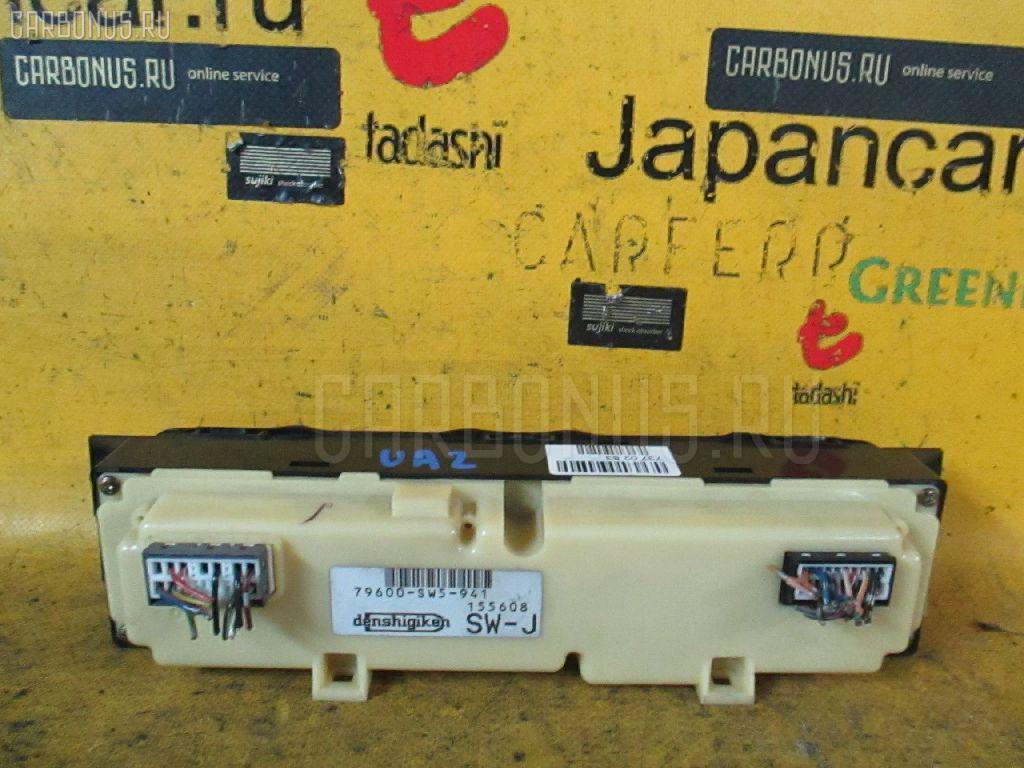 Блок управления климатконтроля HONDA INSPIRE UA2. Фото 2