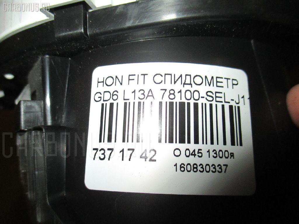 Спидометр HONDA FIT Aria GD6 L13A Фото 3
