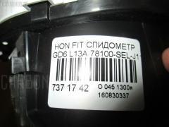 Спидометр 78100-SEL-J11 на Honda Fit Aria GD6 L13A Фото 3