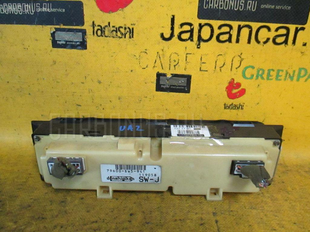 Блок управления климатконтроля HONDA INSPIRE UA2 G25A Фото 2