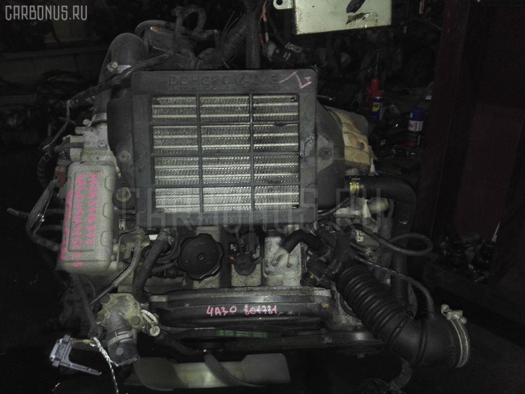 Двигатель MITSUBISHI PAJERO MINI H56A 4A30T Фото 2
