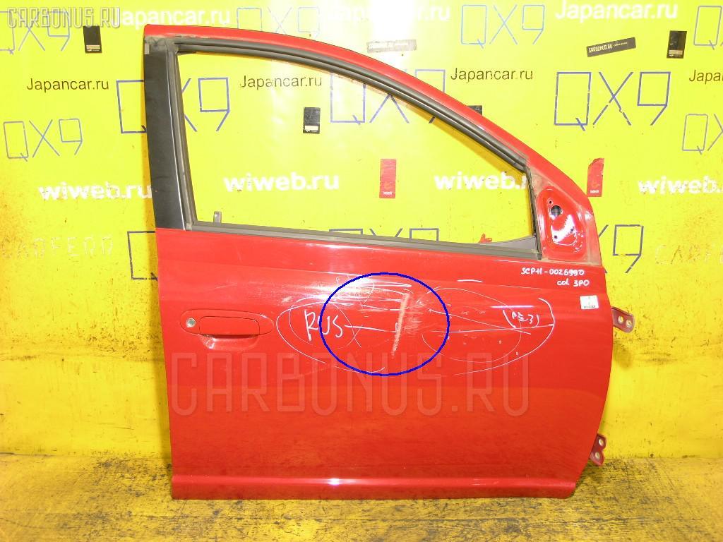 Дверь боковая Toyota Platz SCP11 Фото 1