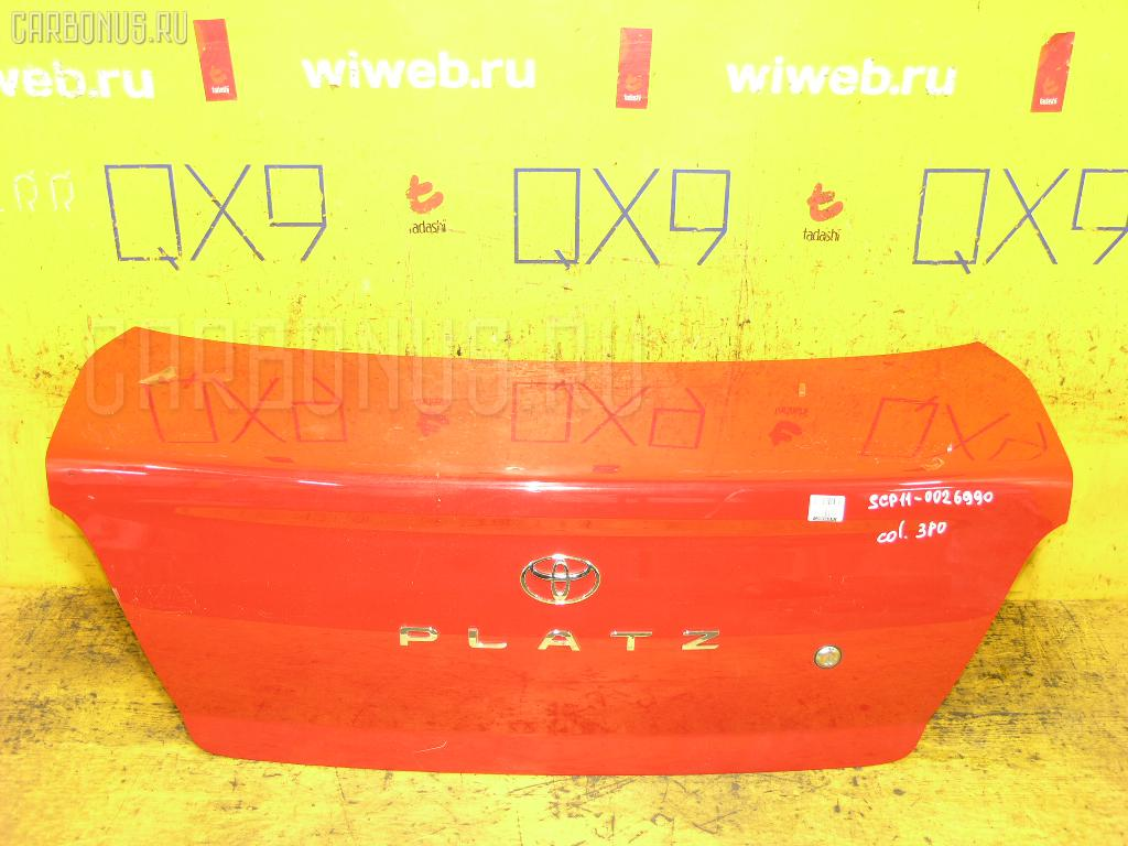 Крышка багажника TOYOTA PLATZ SCP11 Фото 1