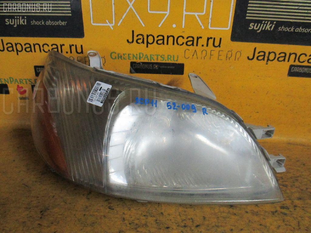 Фара Toyota Platz SCP11 Фото 1