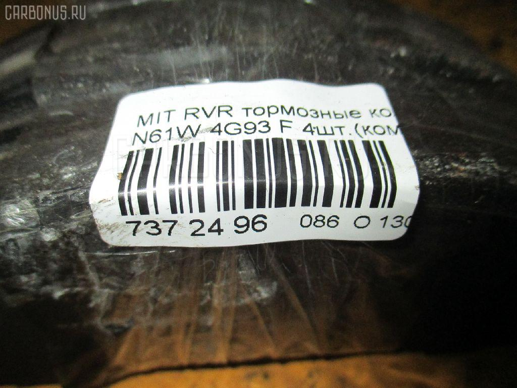 Тормозные колодки MITSUBISHI RVR N61W 4G93 Фото 3