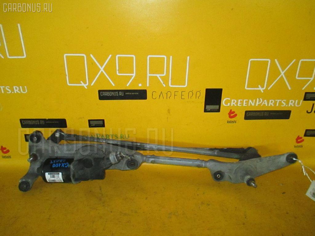 Мотор привода дворников TOYOTA CRESTA GX100. Фото 3