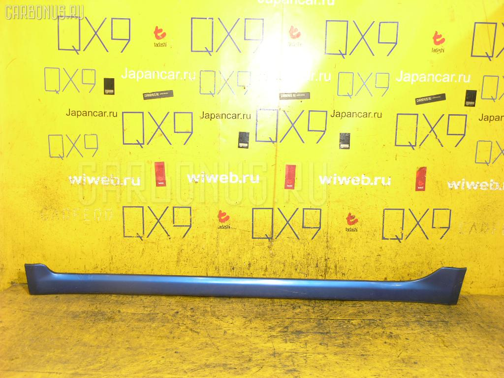 Порог кузова пластиковый ( обвес ) TOYOTA VITZ NCP10 Фото 1
